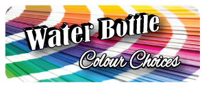 Water bottle print colours