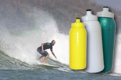 Water bottles for all sports
