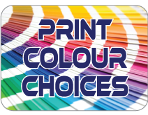 Water Bottle print colour choices