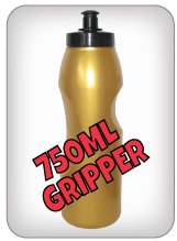 750ml Gripper Water Bottles