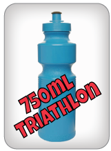 750ml Triathlon Water Bottles